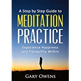 Meditation: Step by Step Guide to Meditation Practice: Experience Happiness and Tranquility Within (Meditation for Beginners, Happiness, Stress relief, Anxiety relief) (English Edition)
