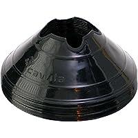 Cawila Conos de señalización (10 unidades, diferentes colores), color - negro, tamaño 6 cm