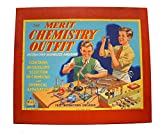Merit Chemistry Outfit Ultra Rare Vintage 1950's The Set Number 1 By J & L Randall Ltd - Mint Condition Unsold Shop Stock Room Find
