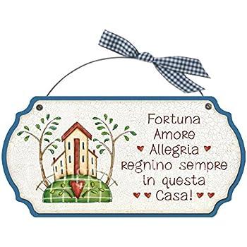 Souvenir Per La Casa Nuova A Forma Di Cuore Idea Regalo La Frase
