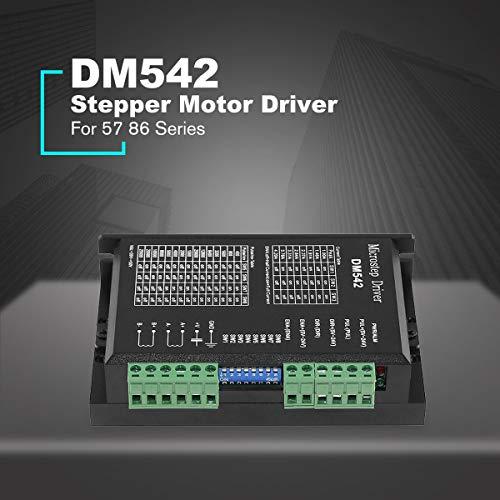Gugutogo DM542 Stepper Motor Driver Controller For 57 86 Series 2-phase Digital Stepper Motor Driver DC 24-60 V 4.5A Durable -