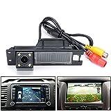 Kalakass LED coche cámara de vista trasera de alta definición Reverse vehículo cámara de copia de seguridad de estacionamiento para Vauxhall Vectra Astra Zafira Corsa Insignia Meriva Antara Vivaro