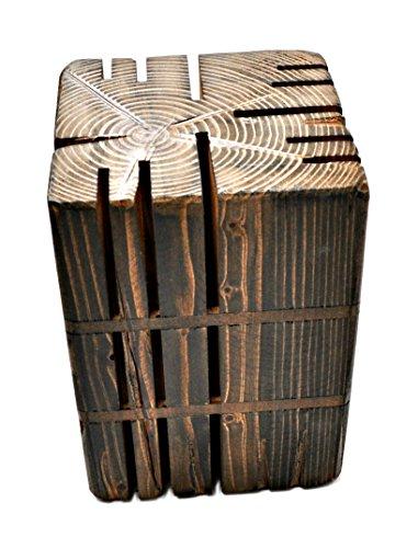 Formawood 58542 Support pour les Couteaux, Bois, Marron, 15 x 15 x 23 cm