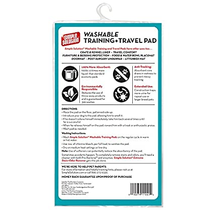 Simple Solution Washable Travel and Training Pad for Small/ Medium Dogs 2