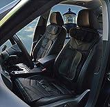 AMYMGLL Massage Chair schienale e sedile Airbag Spremere Ammortizzatore di massaggio per auto , Black