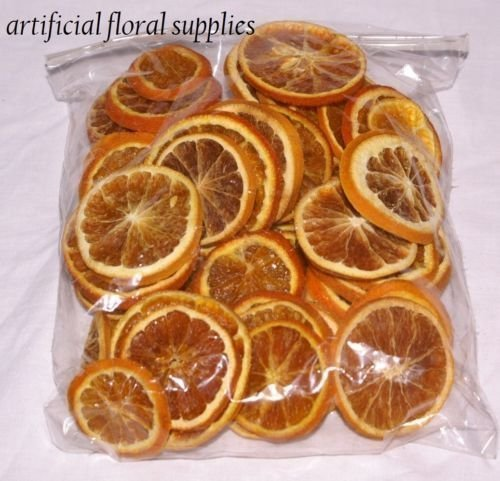 floral supplies 15 dried orange slices christmas crafts and wreaths 15 slices in total by floral supplies