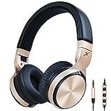 riwbox in5zusammenklappbar Kopfhörer mit Mikrofon und Lautstärkeregler Stereo Headset Strong niedrigen Bass für iPhone iPad Smartphones Laptop MP3/4