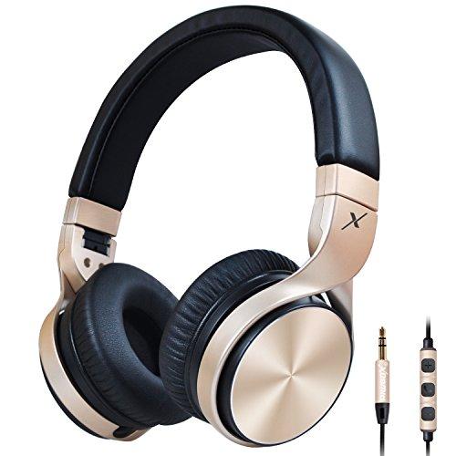 riwbox-in5plegable-auriculares-con-micrfono-y-control-de-volumen-estreo-plegable-auricular-con-micrf