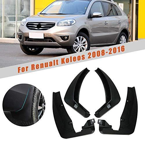 änger vorne & hinten Spritzschutzklappe für Renault Koleos MK1 2008-2016 ()