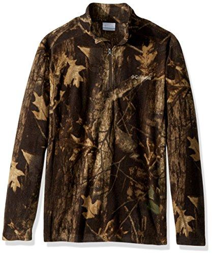 Columbia herren   Henley Shirt  -  rot -  (Columbia Henley)