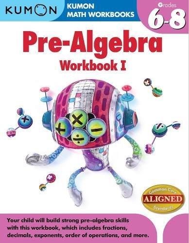 Download [PDF] Books Kumon Pre-Algebra Workbook I (Kumon
