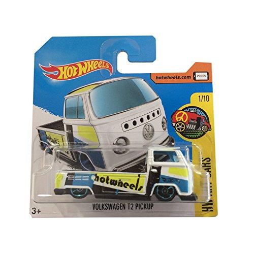 2017 Hot Wheels HW Art Cars Volkswagen T2 Pickup White 295/365 (Short Card)