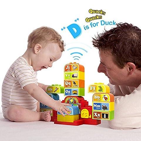 Cubes Parlants ABC avec Musique et Lumières. Apprentissage Audio de l'Alphabet tout en jouant.