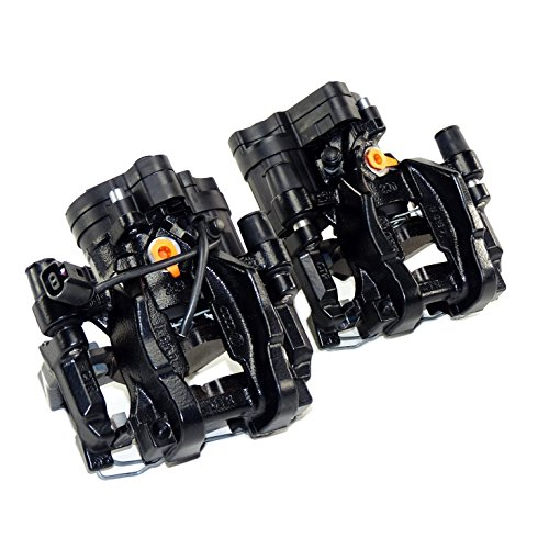 ATE Original Pinza freno Kit di conversione set posteriore 310mm x 22mm con bretelle, rivestimenti e motore di regolazione