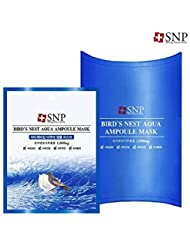 [SNP Cosmetic] Bird's Nest Aqua Ampoule Mask (10ea (Box Case)) by My Beauty Diary