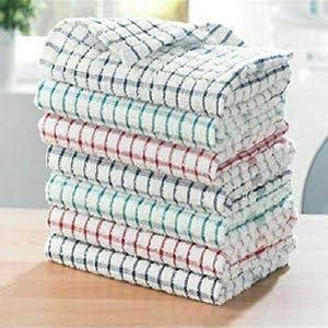 KB Tradax Geschirrtuch, Frottee, 100% Baumwolle, weich, Hotelqualität, 2/4/6/8/10/12 Stück, 100 % Baumwolle baumwolle, 6er-Pack