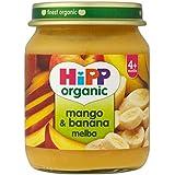 Hipp Organique Mangue Et La Banane Melba 4 + Mois 125G - Lot De 2