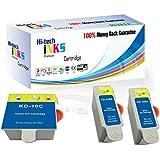 Cartuchos de tinta compatibles para Kodak ESP C110, 310, 315, Office 2150, 2170, Hero 3.1, 5.1, KD, 30x LBK, 30x LC