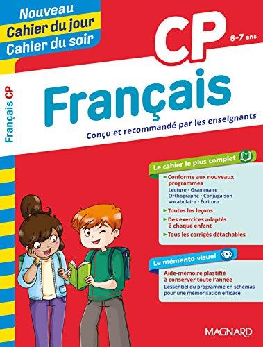 Cahier du jour, cahier du soir: Francais CP (6-7 ans) Edition 2019