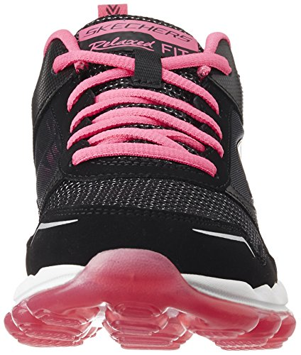 Skechers Damen Skech-Air Rf Sneakers Schwarz (Bkhp)