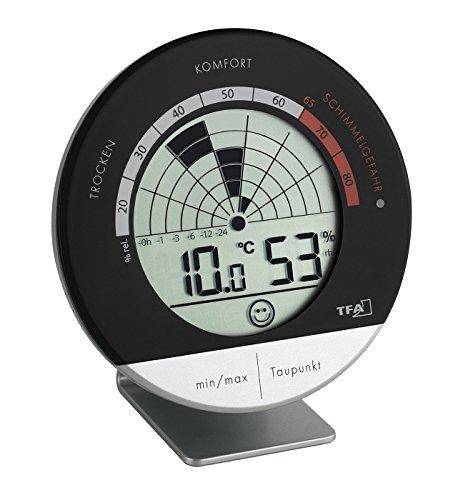 TFA Dostmann digitales Thermo-Hygrometer Schimmel Radar 30.5032