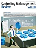 Controlling & Management Review Sonderheft 1-2015: Budgetierung und Planung (CMR-Sonderhefte)