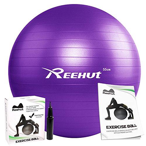 Reehut, palla anti-scoppio per esercizio fisico del tronco, con...