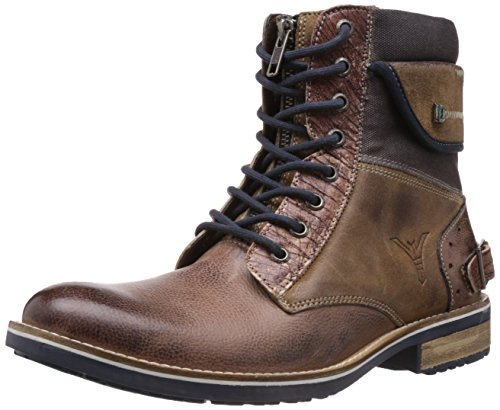 ID Men's Timber Leather Boots - 6 UK