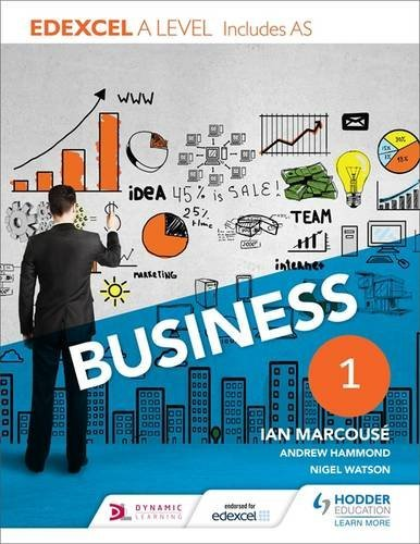Edexcel Business A Level Year 1: Including AS by Ian Marcouse (2015-06-26)