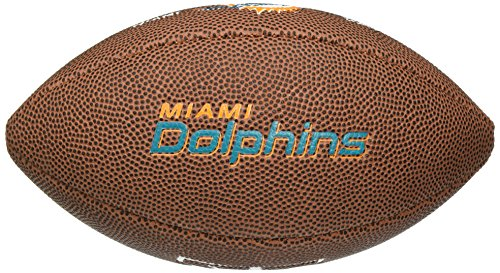 Miami Dolphins Mini Team Logo Football