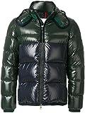 Moncler Piumino Uomo 413778568950868 Poliammide Blu/Verde