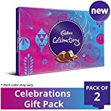 #8: Cadbury Celebrations Assorted Chocolate Gift Pack, 193.5g (Pack of 2)