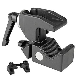 ah Stands SCP710B Adam Hall Accessories Super Clamp Universal Haken mit Knauf schwarz