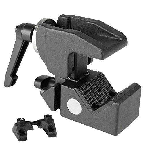 ah Stands SCP710B Adam Hall Accessories Super Clamp Universal Haken mit Knauf schwarz Manfrotto 035 Super Clamp