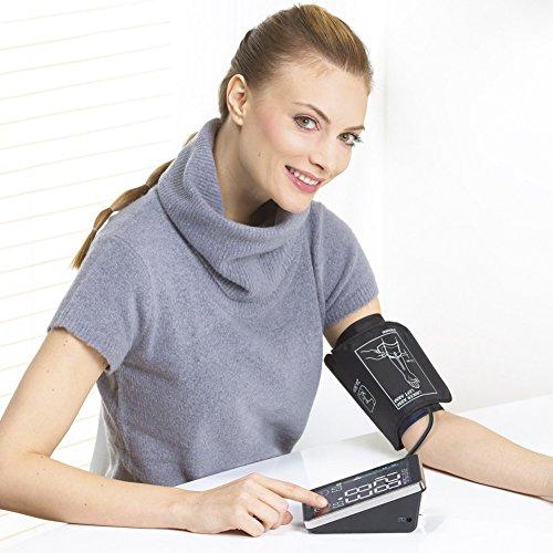 Beurer BM 58 Oberarm-Blutdruckmessgerät, mit Sensor-Touch-Knöpfen, beleuchtetes XL-Display, USB Schnittstelle - 3