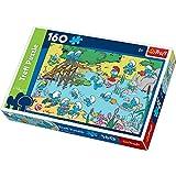 Trefl - Puzzle Los Pitufos de 160 piezas (28.8x19.3 cm) (TR15212)