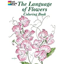 (The Language of Flowers Coloring Book) By Green, John (Author) Paperback on (01 , 2004)