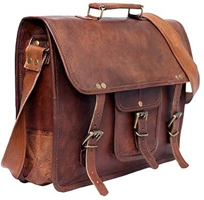 Cool Stuff Homme de sac Messenger Sacoche pour ordinateur portable en cuir véritable