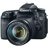 Canon 70D Appareil photo numérique Reflex 20,9 Mix Boîtier + Objectif 18-135mm STM Noir