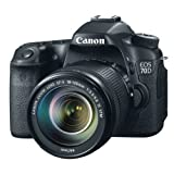 Image of Canon EOS 70D digital SLR camera (20 megapixel APS-C CMOS-sensor, 7.6 cm (3 inch) display, Full-HD, Wi-Fi, DIGIC 5+ processor) 1: 3.5 - 5.6 IS STM black