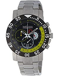 Nautec No Limit Herren-Armbanduhr P-Racer RP QZ/STSTBKYL