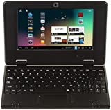 "All New Android 4.1 Enabled Black 4Gb 7"" Mini HD Laptop Netbook Wifi Built in Camera by XpressBuyer®."