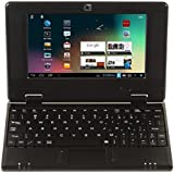 """All New Android 4.1 Enabled Black 4Gb 7"""" Mini HD Laptop Netbook Wifi Built in Camera by XpressBuyer®."""