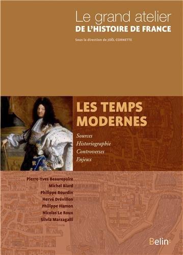 Les temps modernes 1453-1815 par Michel Biard