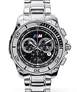 Original bMW m montre chronographe montre avec bracelet en métal