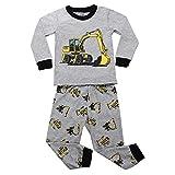 Aibrou kinder Jungen Schlafanzug Baumwolle Zweiteiliger Pyjama Set 100