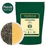 Foglie di tè verde VAHDAM, perle dell'Himalaya | 3,53 Oz (40+ tazze) | Foglia sciolta di tè verde puro | RICCHI ANTIOSSIDANTI | Tè naturale della disintossicazione, tè dimagrante, tè di perdita del peso | Brew come tè caldo o tè freddo