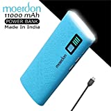 #7: Moerdon 11000 mAh Powerbank With Dual USB Output Charger With Micro USB Charging Cable