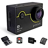 Procus Rush 2.0 16MP 4K HD Action Camera Waterproof with Wi-Fi Full Pack (Black)