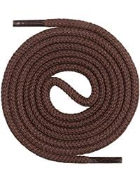 Mount Swiss© Premium Lacets, runds Petits-enfants 100% coton, indéchirable, Ø 3mm–4mm, longueur 45–200cm